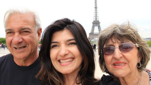 Na Piazza del Trocadéro, em Paris.