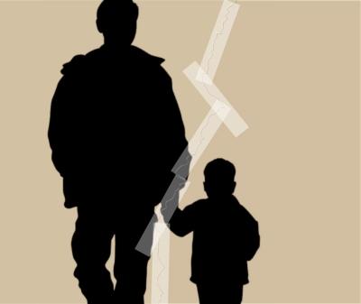 menino e pai